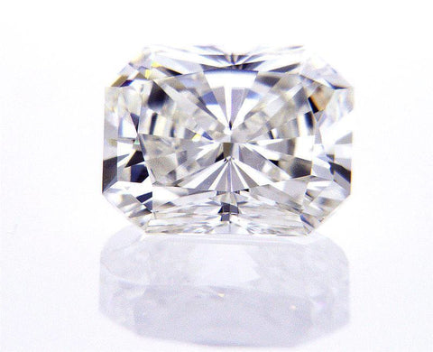 GIA Certified 100% Natural Loose Diamond Radiant Cut 1.02 CT H Color VVS2 $8,000
