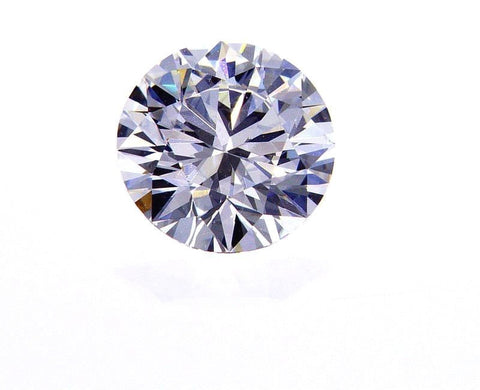 GIA Certified Natural Round Cut Loose Diamond 0.40 Ct D Color VVS2 Good Make
