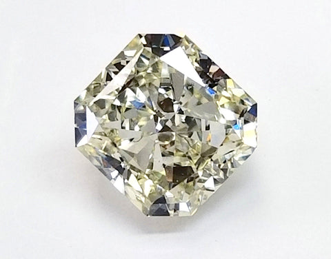 EGL Certified Natural Radiant Cut Loose Diamond 2 CT J Color VS1 for Engagement