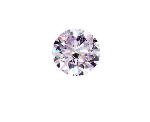 GIA Certified Rare Natural Round Cut Fancy Light Pink Diamond 0.16 CT SI1