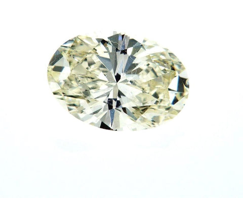 Naturally Earth Mined Oval Cut Loose Diamond 1 CT I Color VS1 For Engagement