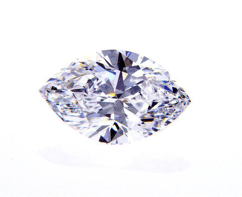 GIA Certified Marquise Cut Natural Loose Diamond 0.71 Carat D Color SI1 Clarity