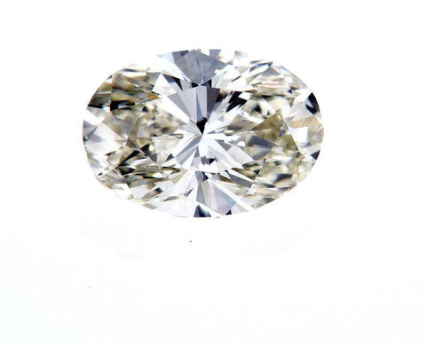 Naturally Earth Mined Oval Cut Loose Diamond 1.01 Carats J Color VVS2 clarity