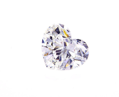 GIA Certified Natural Heart Cut LOOSE DIAMOND 3/4 Carat I Color SI2 Clarity