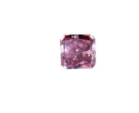 GIA Certified Natural Rare Fancy Deep Orangy Pink Radiant Loose Diamond 0.29 Ct