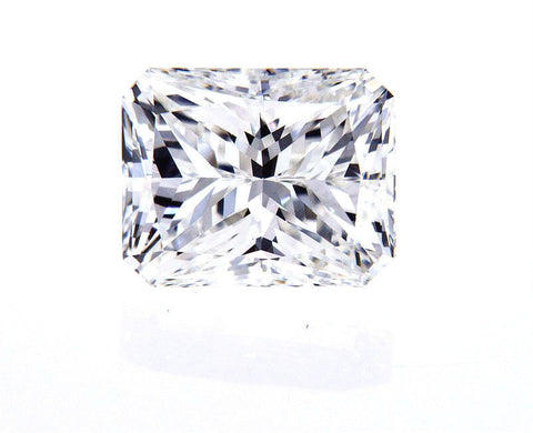 GIA Certified Natural 2 CT Radiant Cut Loose Diamond G Color VVS2 Clarity