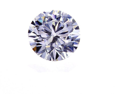 GIA Certified Natural Round Cut Loose Diamond 0.57 Ct F Color VVS2 Very Good Cut