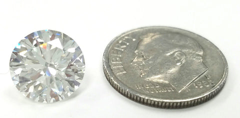 GIA Certifed Natural Loose Diamond Round Cut 3.59 CT H Color VVS2 Excellent Cut