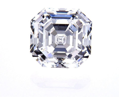 GIA Certified Natural Loose Diamond ASSCHER CUT 4.11 Carat Loose F Color SI1