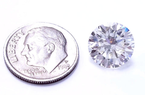 HUGE Natural Loose Diamond Round Cut 5 CT GIA Certifed L Color VVS1 Clarity