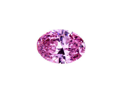 GIA Argyle Certified Natural Oval Cut Fancy Intense Purplish Pink 0.29 Ct SI1