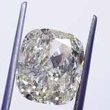 Light Yellow GIA Certified Natural Cushion Cut Loose Diamond 10 CT SI1 Clarity