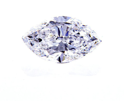 EGL Certified Natural 1.50 Cts Marquise Cut Loose Diamond D Color SI2 Clarity
