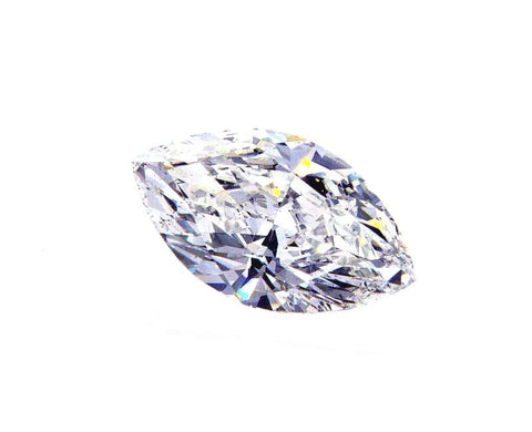 GIA Certified Natural Marquise Cut Loose Diamond 0.72 Cts G Color SI1 Clarity