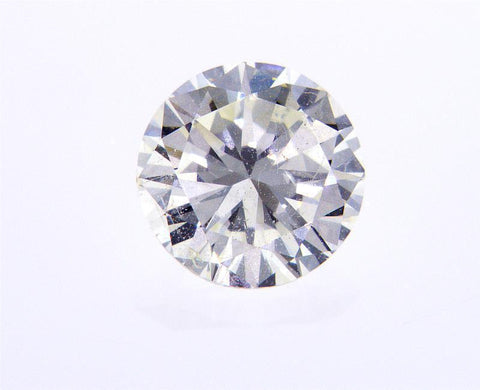 EGL Certified Round Cut Natural Loose Diamond 3/4 Carat I Color SI1 Clarity