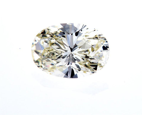 Naturally Earth Mined Oval Cut Loose Diamond 1.14 Carats L Color VVS2 clarity