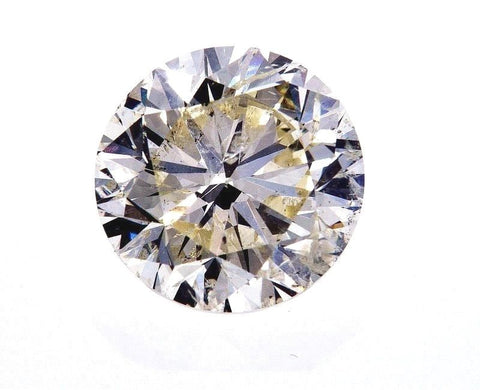 EGL Certified Loose Natural Round Brilliant Diamond 4.02 CT K Color SI3 Clarity