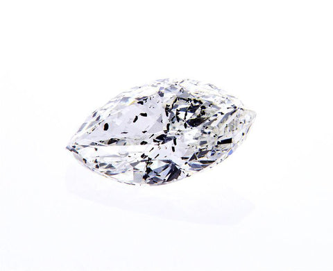 GIA Certified Marquise Cut Natural Loose Diamond 1.00 Carats I Color I2 Clarity