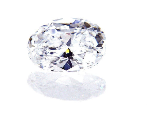 GIA Certified Oval Cut Natural Loose Diamond 0.70 Carat D Color VVS2 Clarity