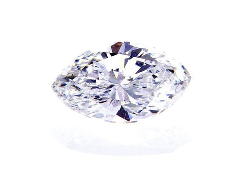 GIA Certified Natural Marquise Cut Loose Diamond 0.73 Cts F Color SI1 Clarity