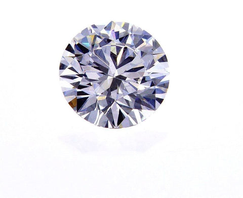 GIA Certified Natural Round Cut Loose Diamond 0.40 Ct E Color VVS2 Very Good Cut