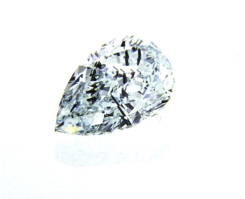 GIA Argyle Certified Natural Pear Cut Fancy Light Bluish Green Diamond 0.51 CT