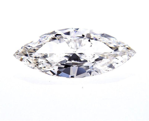 GIA Certified Natural Marquise Cut Loose Diamond 1.61 Carat H Color SI2 Clarity