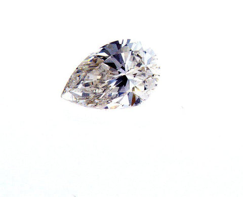 GIA Certified Pear Cut Natural Loose Diamond 3/4 Carat I Color SI2 Clarity