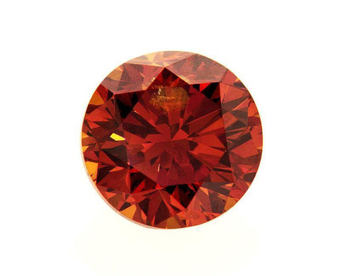 Certified Natural Very Rare FANCY RED Round Cut Loose Diamond 1.51 CT I1