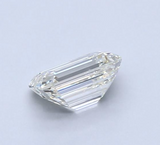 Diamond 0.46 CT Natural Loose Emerald Cut F Color VVS1 Clarity GIA Certified