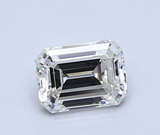Diamond 0.46 CT Natural Loose Emerald Cut E Color VS2 Clarity GIA Certified