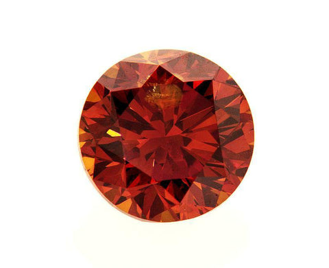 EGL Certified Natural Rare FANCY RED COLOR Round Cut Loose Diamond 1.51 CT I1