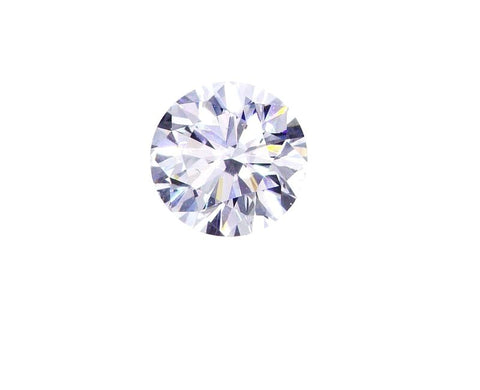 Loose Diamond Natural Round Cut GIA Certified 0.58 Ct E Color SI1 Clarity