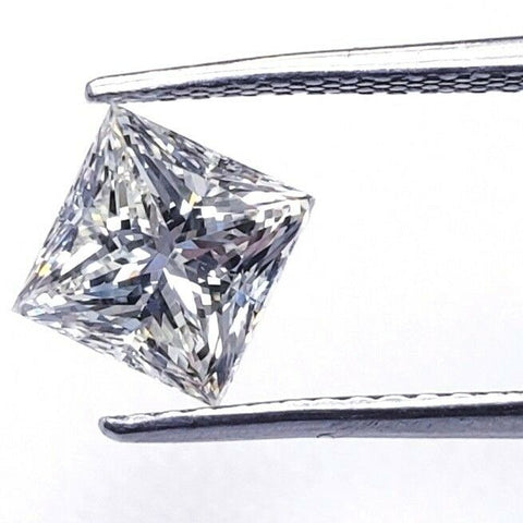 0.72 CT Princess Cut M Color VS1 Clarity Natural Loose Diamond GIA Certified