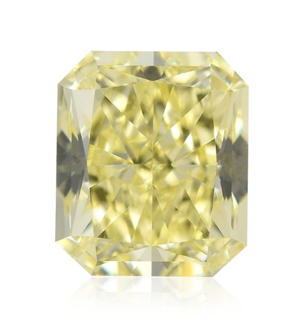 Natural Loose Diamond 6.25 CT FANCY YELLOW Color SI1 Radiant Cut GIA Certified