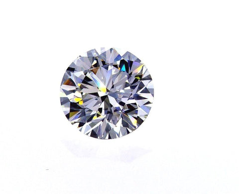 Huge 3.59 CT H VVS2 Natural Loose Diamond Round Cut Brilliant GIA Certified