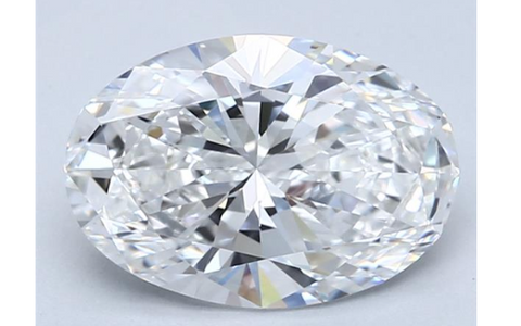 Diamond 1.21 CT D Color VS1 Natural Loose Brilliant Cut GIA Certified Oval Shape