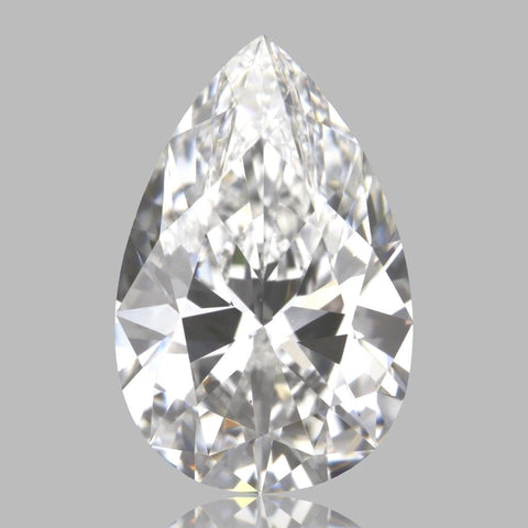 Loose Diamond Pear Cut 5.34 CT J Color VS1 Clarity GIA Certified 100% Natural