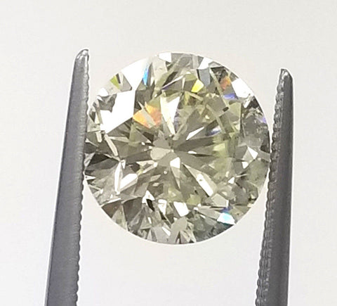 EGL Certified 100% Natural Round Cut Loose Diamond 4 CT K color Retail $30,000