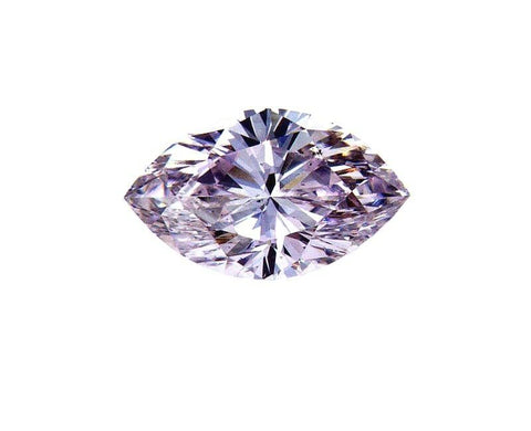 1/2 CT Natural Fancy PINK Color Loose Diamond GIA Certified Marquise Cut