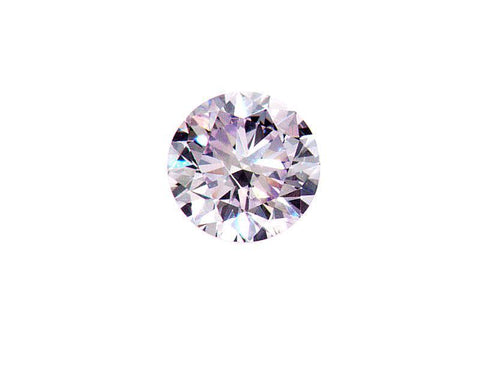 Fancy PINK Color Natural Loose Diamond 0.16 CT SI1 GIA Certified Round Brilliant
