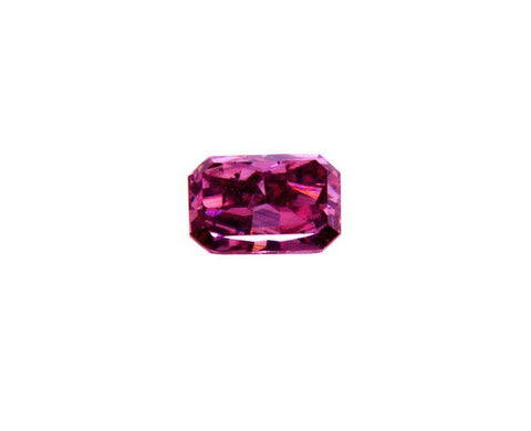 Fancy Vivid Purplish Pink Loose Diamond 0.13 CT GIA Certified Round Radiant Cut