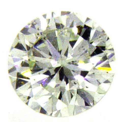 0.18 CT SI2 GIA Certified Rare Natural Fancy Green Color Round Cut Loose Diamond