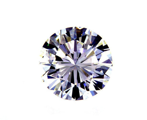 3 CT I Color VS1 Clarity GIA Certified Round Cut Natural Loose Diamond 9.3mm