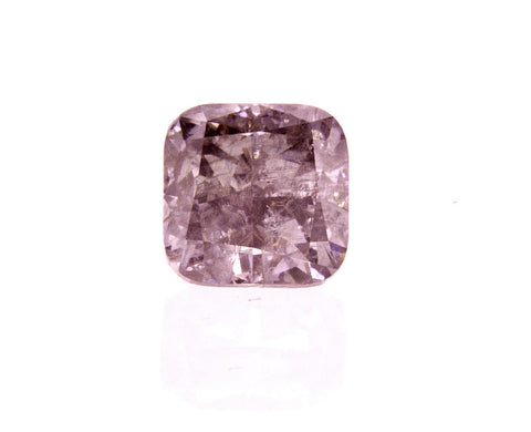 Rare Natural Fancy Pink Color Diamond 1.08 Ct Cushion Cut GIA Certified