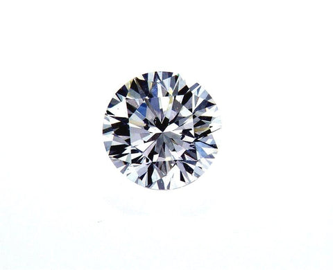 Diamond Natural Loose Round Cut 0.40 CT D Color VVS2 Clarity GIA Certified