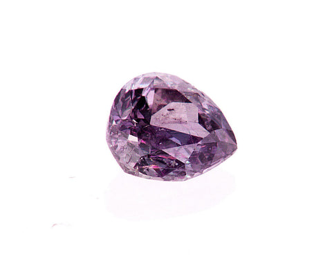 Fancy Purple Pink Color 0.56 CT GIA Certified Natural Loose Diamond Pear Cut