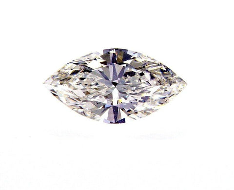 0.71 CT Diamond H Color SI1 Clarity Loose GIA Certified Marquise Cut Natural
