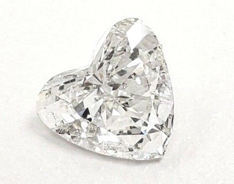 0.84 CT G Color I1 Clarity Natural Loose Diamond Heart Cut GIA Certified