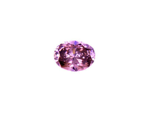 Rare Fancy Deep Pink Loose Diamond 0.19 CT GIA Certified 100% Natural Oval Cut
